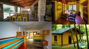 camping valle do seo, alojamiento para grupos